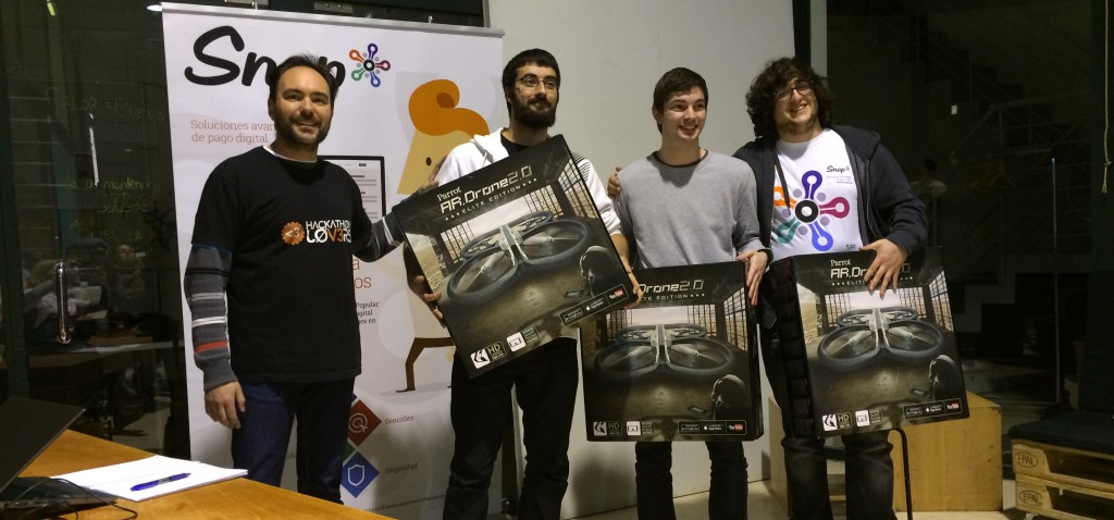 Performband Wins Snap* Hackathon in Madrid, Spain with Mobile App for Street Artists